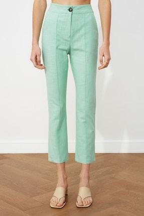TRENDYOLMİLLA Mint Klasik Pantolon TWOSS20PL0008 2