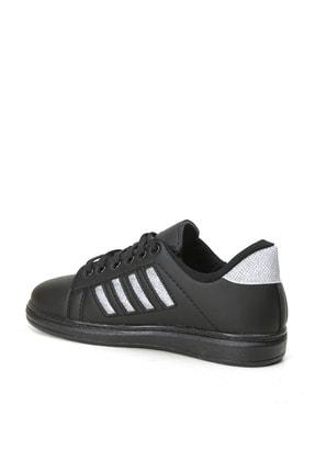 Ayakkabı Modası Kadın Simli Spor Ayakkabı 4 Bantlı 2