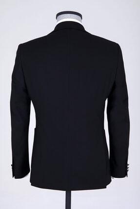 Hatemoğlu Erkek Siyah Slim Fit Takım Elbise 3