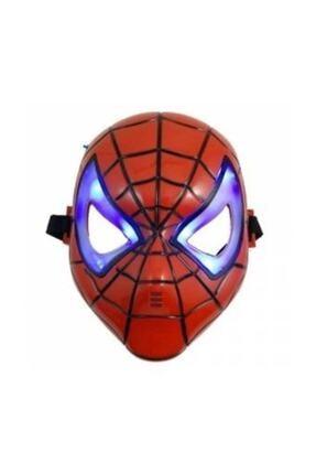 Samur Işıklı Spıdermen Maske 0