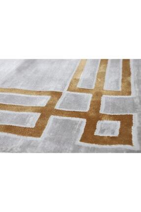 RUG PAGE Gold Modern Kaliteli Dekoratif Salon Halısı Çerçeve Elit 3