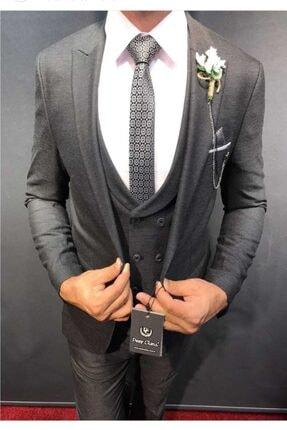 Erkek Slim Fit Takım Elbise erkek takım elbise