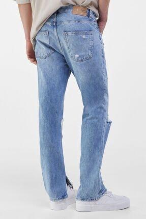 Bershka Erkek Mavi Slim Fit Jean 1