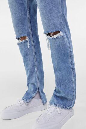Bershka Erkek Mavi Slim Fit Jean 2