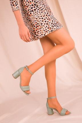 Soho Exclusive Mınt Yeşil Kadın Klasik Topuklu Ayakkabı 15808 3