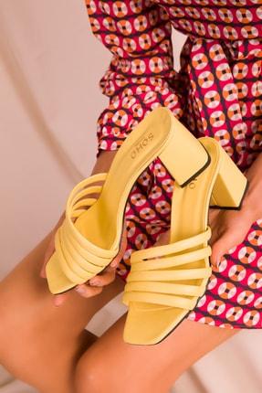 Soho Exclusive Sarı Kadın Terlik 15815 1