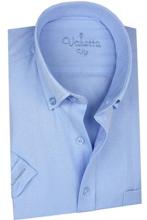 Picture of Erkek Açık Mavi Kısa Kollu Gömlek