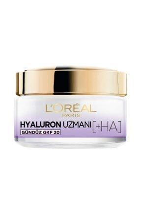 L'Oreal Paris Hyaluron Uzmanı Gündüz Kremi + Arındırıcı Temizleme Jeli 2'li Set & Hyaluron Çanta Hediye 1