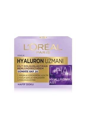 L'Oreal Paris Hyaluron Uzmanı Gündüz Kremi + Arındırıcı Temizleme Jeli 2'li Set & Hyaluron Çanta Hediye 2