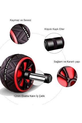 Cooltech Ab Roller Egzersiz Fitness Tekerleği Ab Wheel Karın Kası Kondisyon Spor Aleti 2