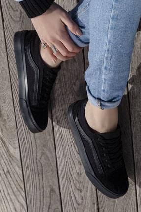 Daxtors Unisex Siyah Günlük Ortopedik Sneaker D044 0