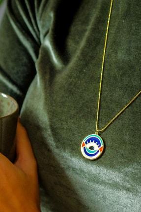 Gui Jewellery Kadın Gümüş Universe Madalyon Kolye 3