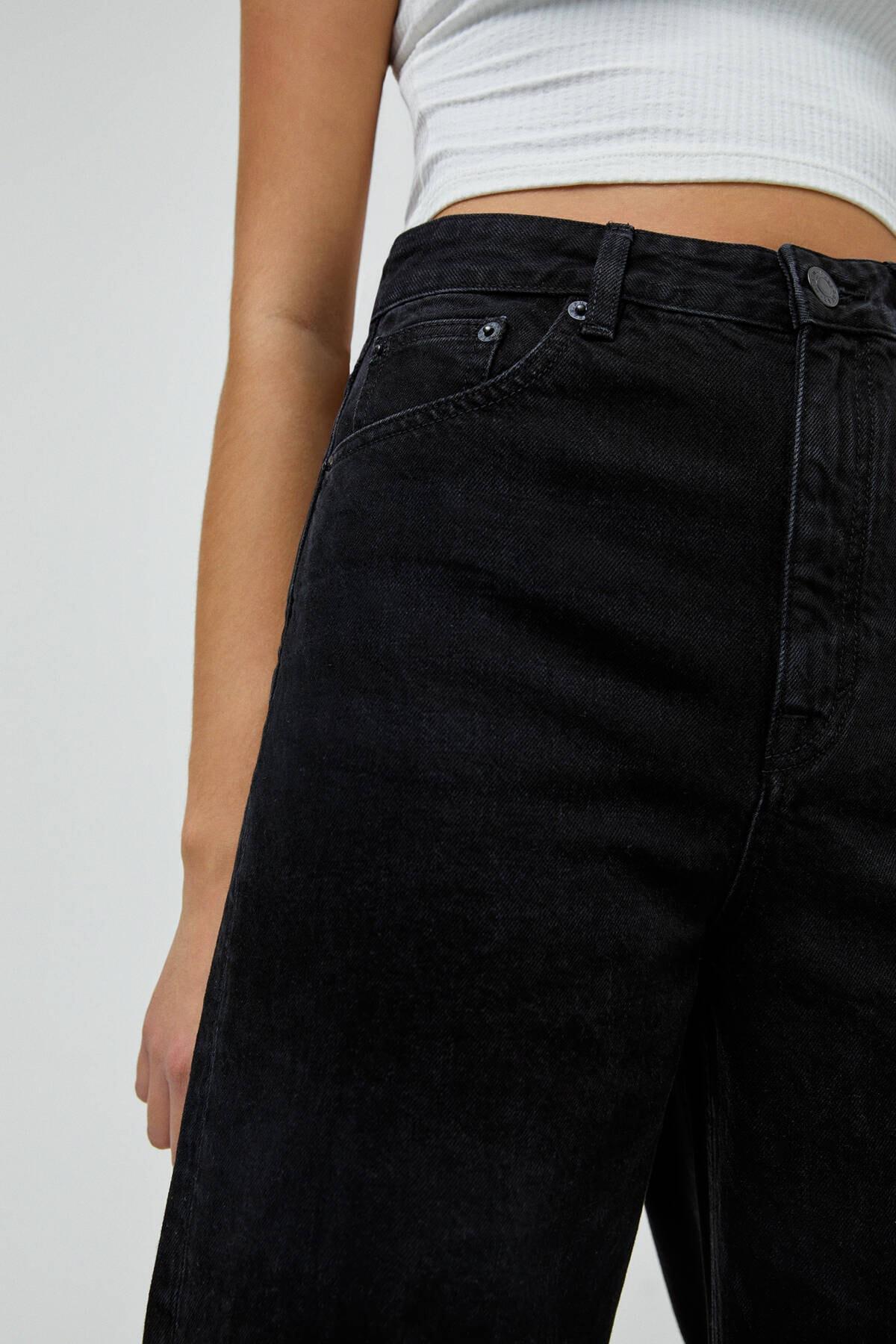 Pull & Bear Basic Petite Culotte Jean 1
