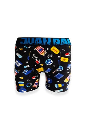 Socks Stations 3'lü Renkli Desenli Boxer Kutusu 2