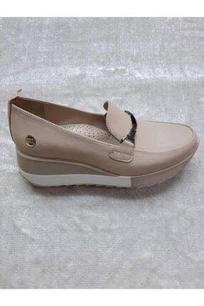 Mammamia Kadın Dolgu Deri Taban Düşüklüğü Ve Topuk Dikenine Uygun Günlük Ayakkabısı 2