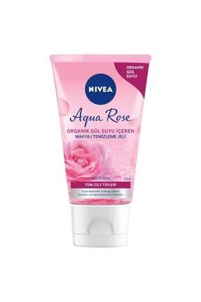 Nivea Aqua Rose Organik Gül Suyu Içeren Makyaj Temizleme Jeli 150 ml 0