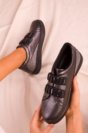 Soho Exclusive Platin Kadın Sneaker 15890 1