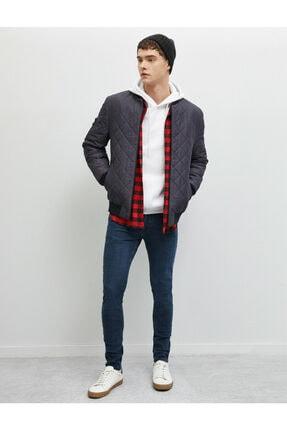 Koton Erkek Mavi Skinny Fit Jean Pantolon 0