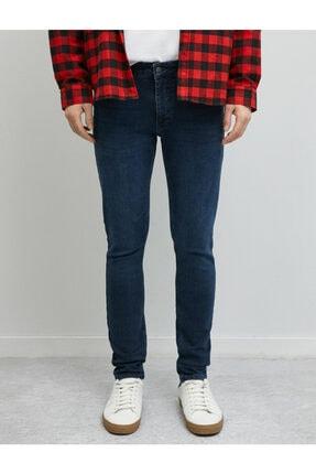Koton Erkek Mavi Skinny Fit Jean Pantolon 2