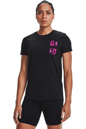 Under Armour Kadın Spor T-Shirt - Live Repeat HB SSC - 1365136-001 0