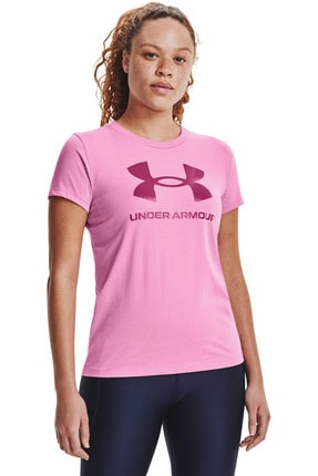 Under Armour Kadın Spor T-Shirt - Live Sportstyle Graphic SSC - 1356305-680 0