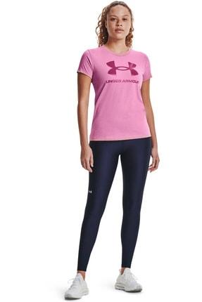 Under Armour Kadın Spor T-Shirt - Live Sportstyle Graphic SSC - 1356305-680 2