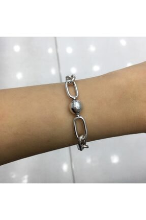 My Story Halka Zincir Gümüş Charm Bileklik 1