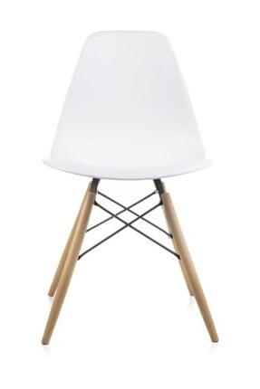 Dorcia Home Mona Beyaz Sandalye - Cafe Balkon Mutfak Sandalyesi 1
