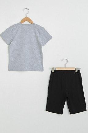LC Waikiki Erkek Çocuk Yeni Siyah Cvl Pijama Takımı 1