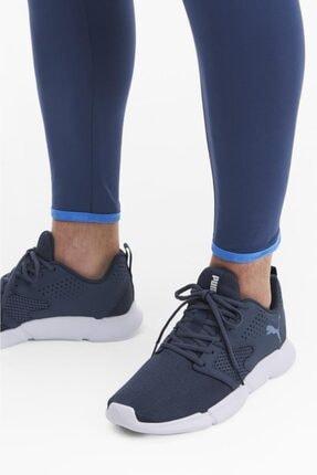 Puma Erkek Mavi Interflex Spor Ayakkabı 3