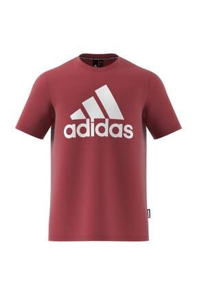 adidas MH BOS TEE Kırmızı Erkek T-Shirt 101118094 2