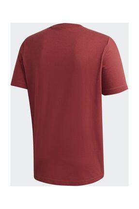 adidas MH BOS TEE Kırmızı Erkek T-Shirt 101118094 3