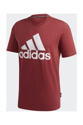 adidas MH BOS TEE Kırmızı Erkek T-Shirt 101118094 4
