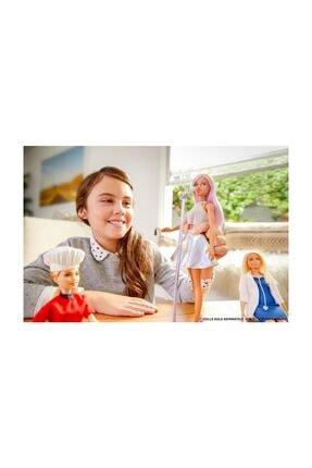 Barbie Pop Star Bebek ve Mikrofonu FXN98-DVF50 1