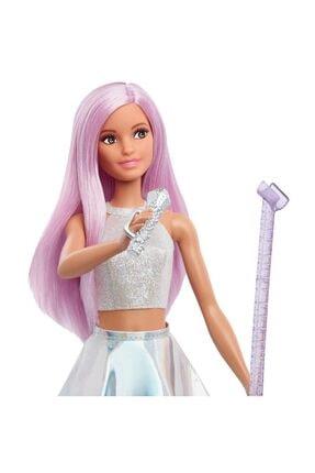 Barbie Pop Star Bebek ve Mikrofonu FXN98-DVF50 2