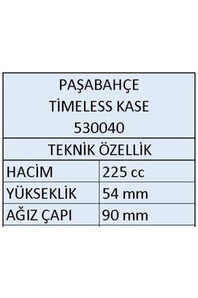 Paşabahçe 530040 Timeless Çerezlik Kase 225cc - 12 Adet 2