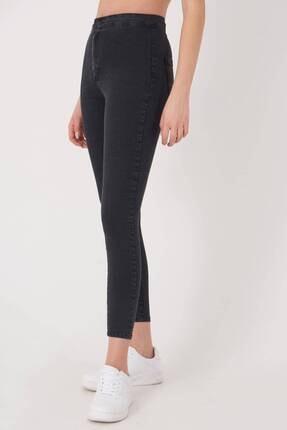 Addax Kadın Füme Yüksek Bel Pantolon Pn10915 - G8Pnn Adx-0000013630 3