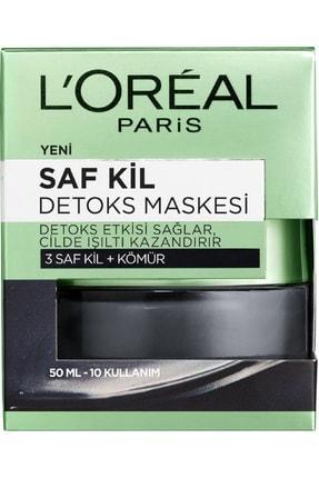 L'Oreal Paris Nem Terapisi Normalden Karmaya Ciltler-Su Bazlı Günlük Bakım + Saf Kil Detoks Maskesi 36005234248942 1