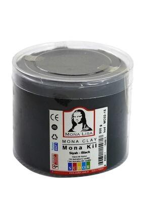 Südor Mona Clay Modelleme Kili 500gr. Siyah 0