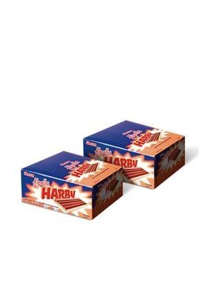 Alpella Harby Karamelli Kaplamalı Bisküvi 25 gr (24 Adet) / 2 Adet 0