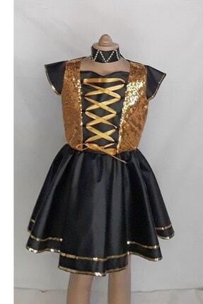 Şahin Kostum Deri Elbise 9071 deri elbise