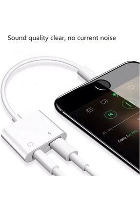 CAPIN Apple Iphone 7 7plus 8 8plus X Xr Xs Xs Max Şarj Ve Kulaklık Dönüştürücü Bluetoothlu Aparat 2
