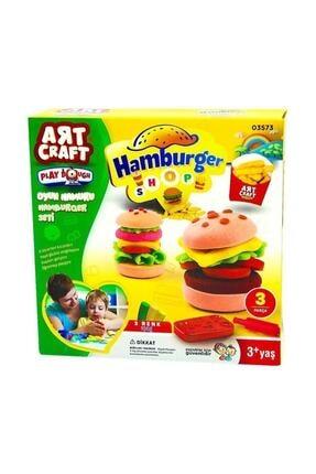 DEDE Oyun Hamuru Hamburger Seti 1