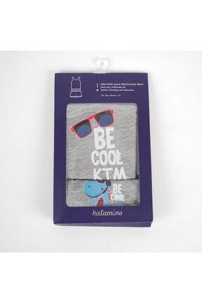 Becool Erkek Çocuk Atlet Boxer Takım Çamaşır resmi