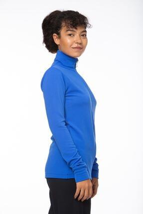 Lotto Sweatshirt Kadın Saks Mavi-lacivert-ottoman Sweat Fz Pl W-r9653 4