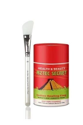 Aztec Secret Healing Clay Kil Yüz Maskesi 150 gr + Silikon Maske Fırçası 0