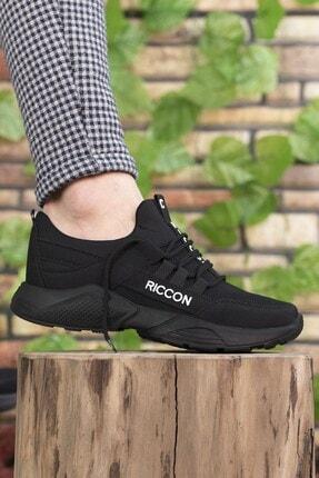Riccon Unisex Siyah Sneaker 0012072 1