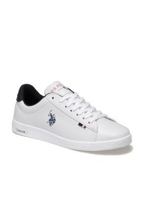 US Polo Assn FRANCO 1FX Beyaz Erkek Sneaker Ayakkabı 100910268 0