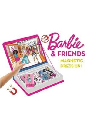 Diytoy Barbie Friends Manyetik Kıyafet Giydirme 1
