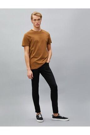 Koton Erkek Siyah Jean Pantolon 0